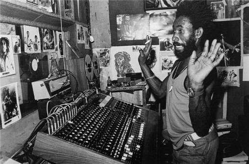 Lee Scratch Perry at The Black Ark